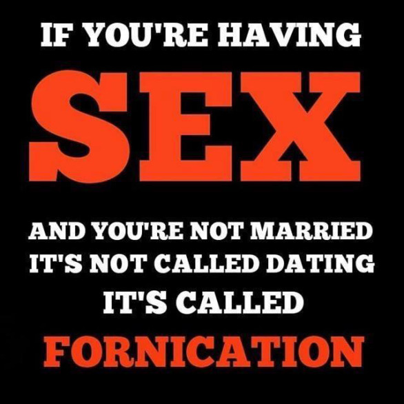 Sin of Adultery and Fornication – Pastor Conrad