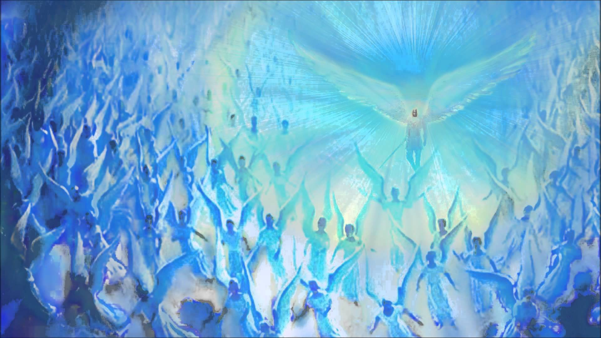 THE ANGELS OF ANOINTING - GLOFIRE