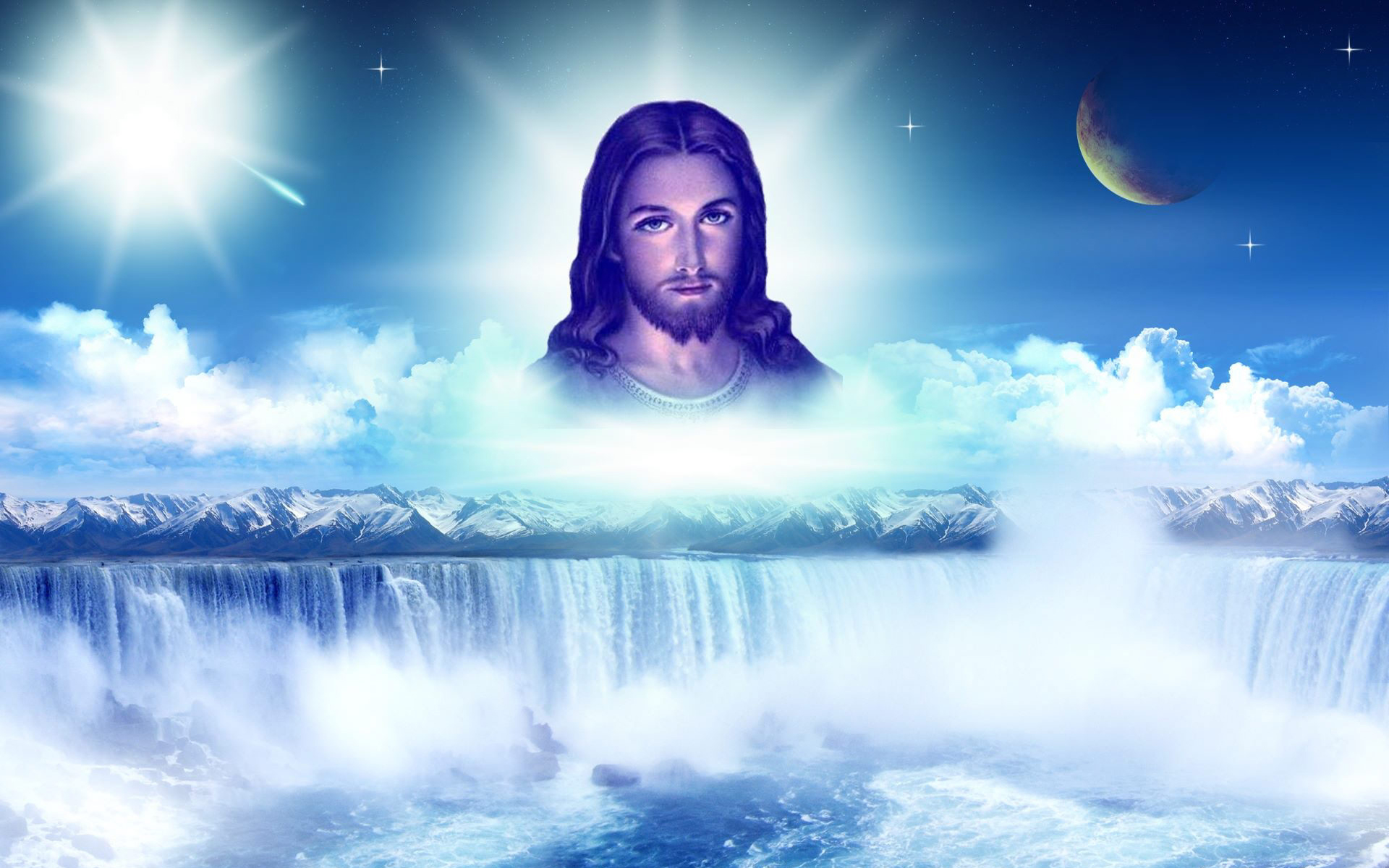 Lord Jesus Christ Appears in Indescribable Glory