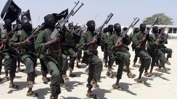 Vision of Kenyan Soldiers Being Loaded Unto Trucks