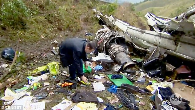 Footballer who survived Colombian plane tragedy was reading Bible passage